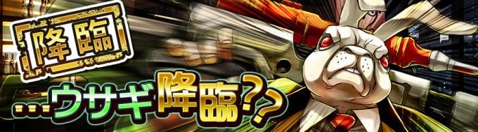 【降臨☆6】…ウサギ降臨??