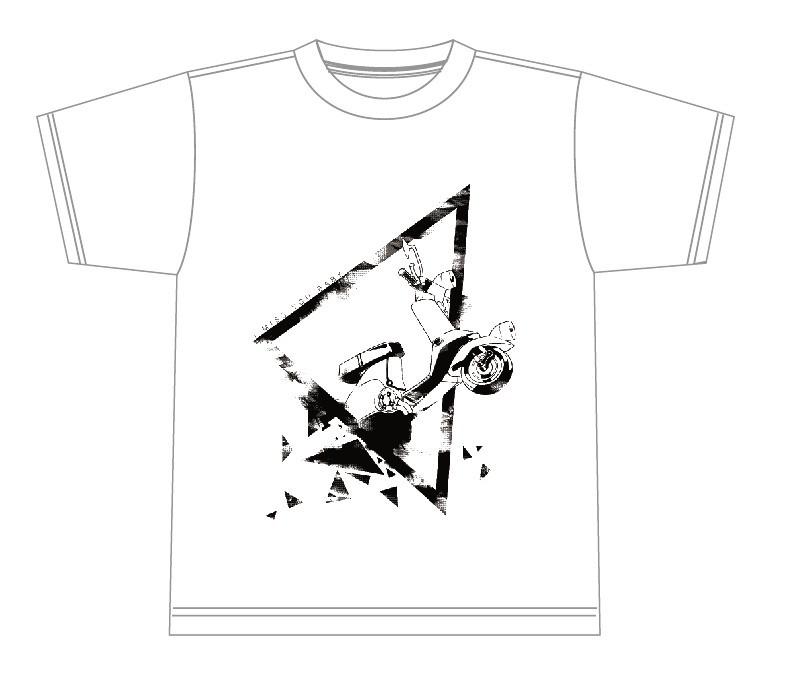 消滅都市 2nd Anniversary Tシャツ(白)