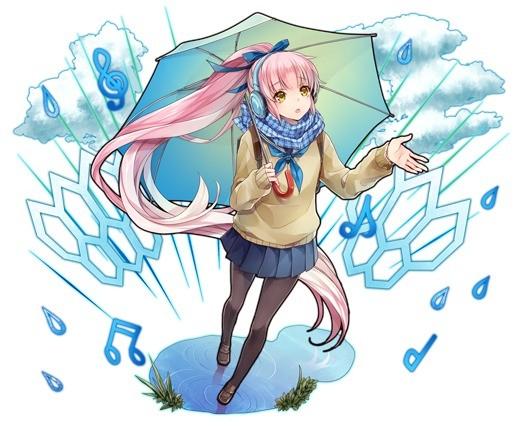 雨に歌う少女 ケイ