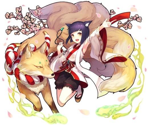 狐神に選ばれし娘 サヨ
