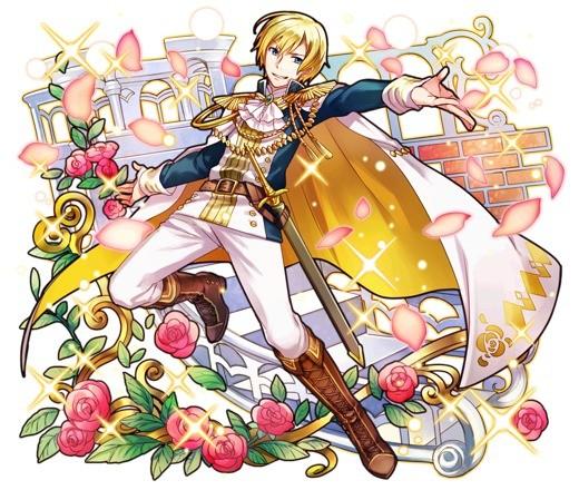 薔薇の貴公子 アラン