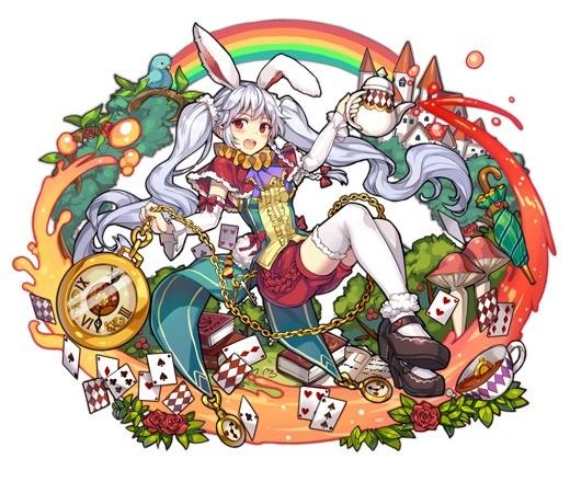 不思議な導き手 白ウサギ