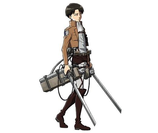 調査兵団の兵士長 リヴァイ