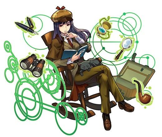 熟練の探偵 トモコ