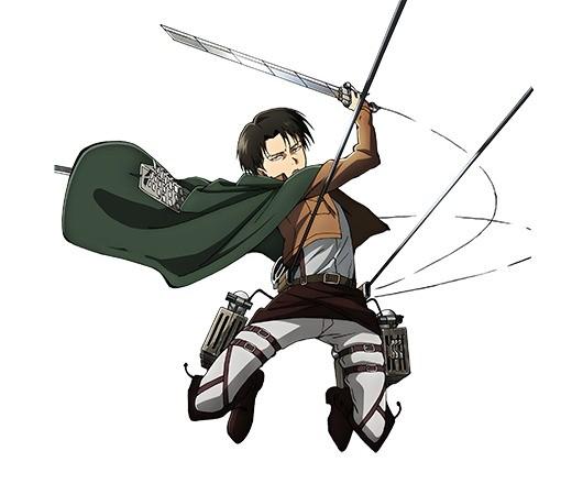 人類最強の兵士 リヴァイ