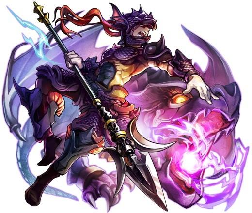 竜神の力を宿す竜騎士