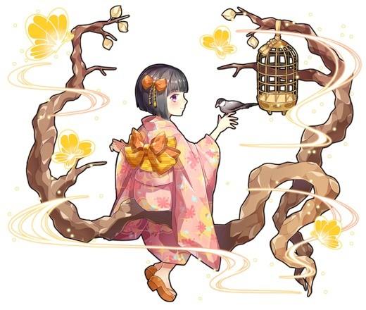 止まり木の少女 ミオリ