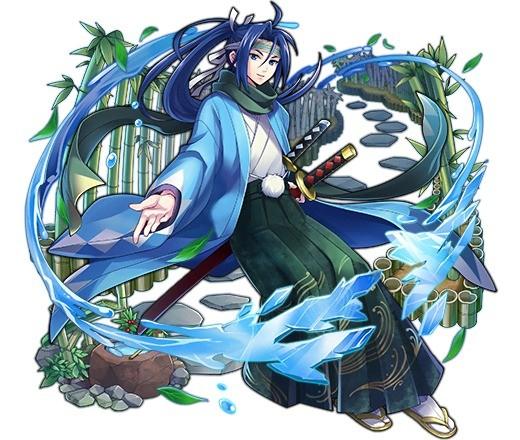 雪月花の剣士 沖田総司